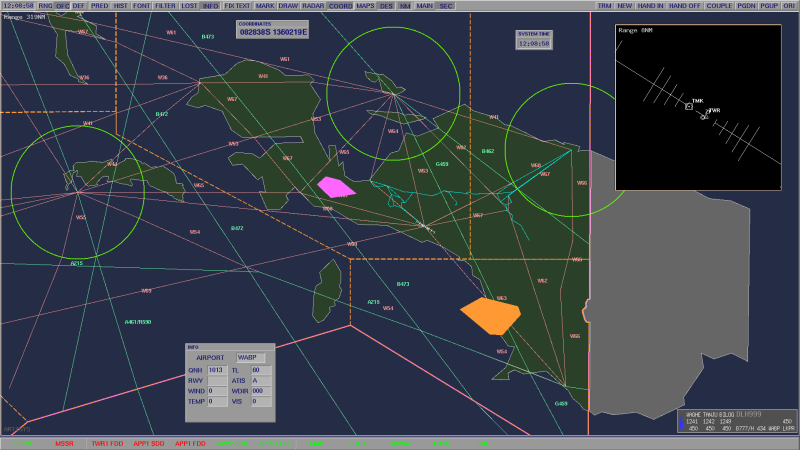 training airspace