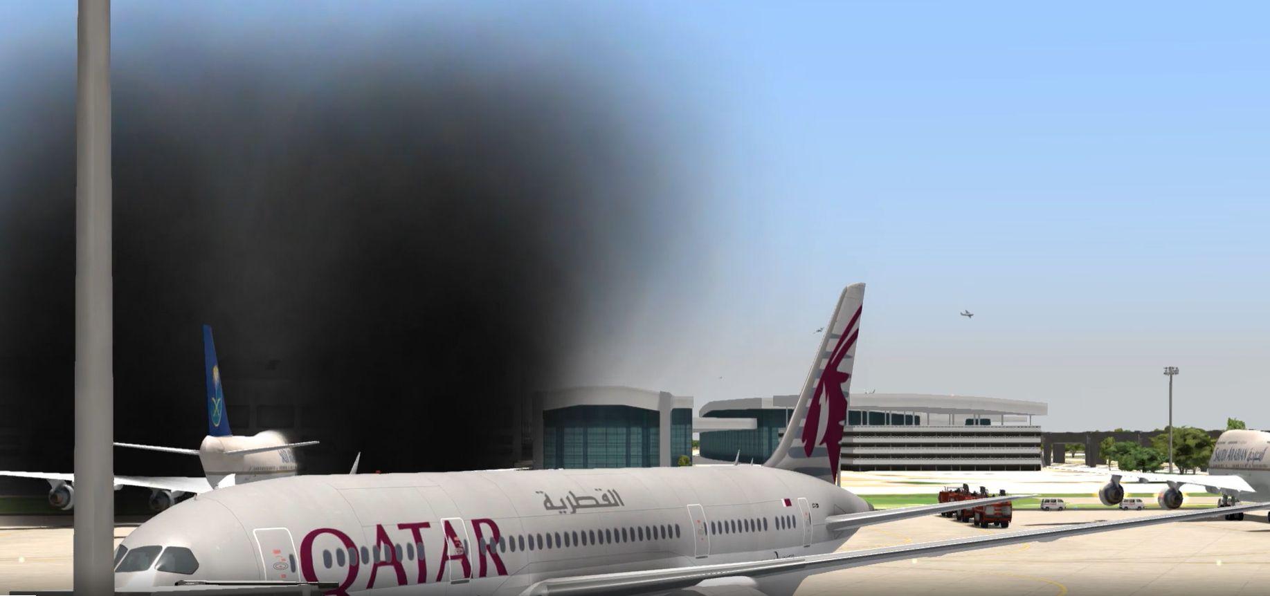 civil-qatar-lufthansa-saudi-fire