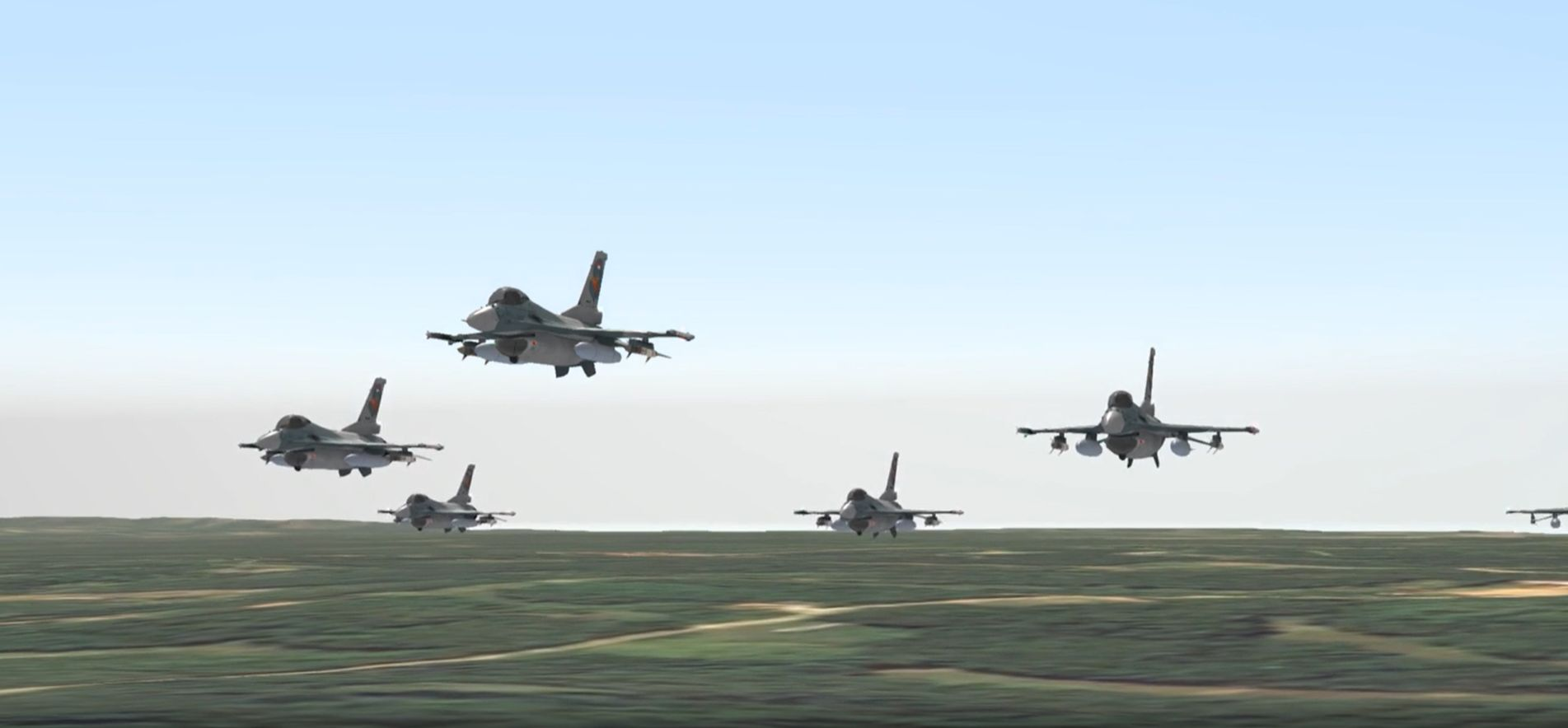 Military-formation-in-the-air