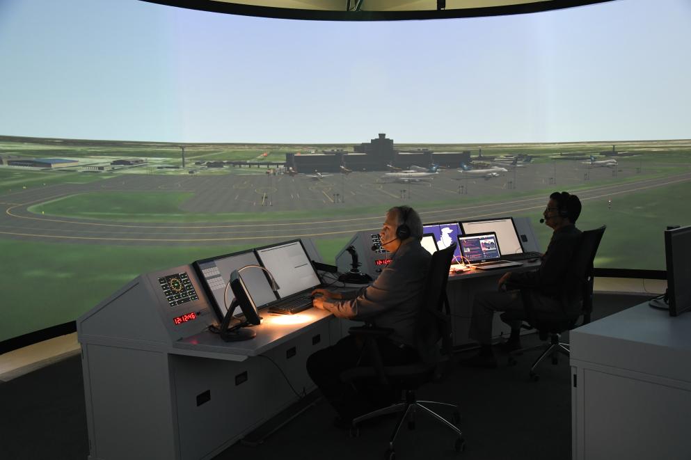 tower room - tower simulator