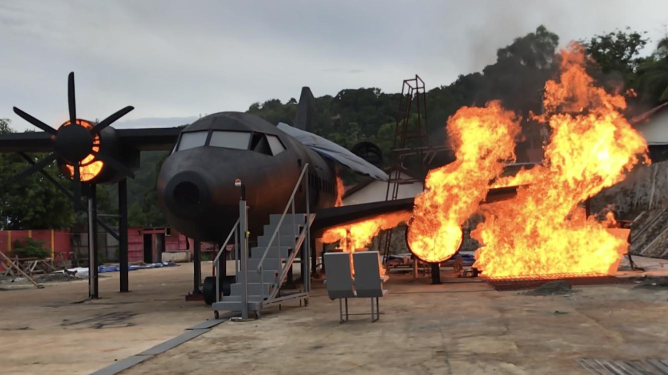 Flugzeugbrand-II
