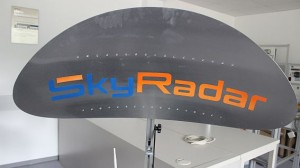 SkyRadar Modular Radar Training System - Parabolic Reflector with variable slope angle